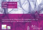 Les processus et potentiels de changement chez les adolescents auteurs de violences sexuelles