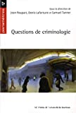 Question de criminologie