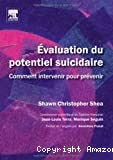 Evaluation du potentiel suicidaire
