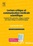 Lecture critique et communication médicale scientifique