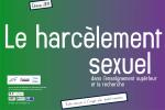 Le harcèlement sexuel dans l'enseignement supérieur et la recherche. Edition 2017