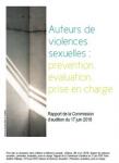 Auteurs de violences sexuelles : prévention, évaluation, prise en charge